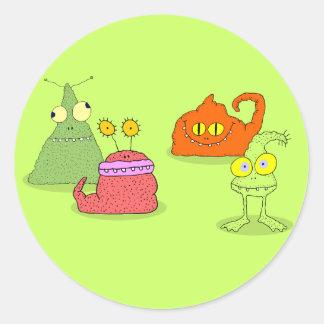 Germs Classic Round Sticker