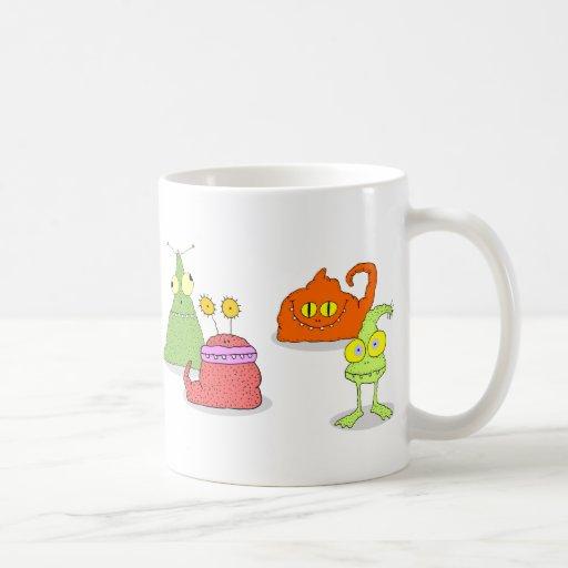 Germs Classic White Coffee Mug