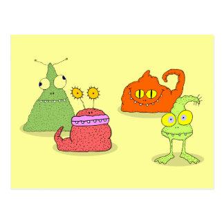 Germs Postcard