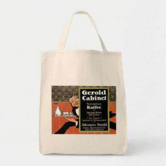 Gerold Cabinet Kaffee Vintage Drink Ad Art Canvas Bags