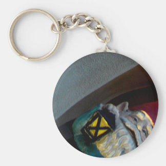 Gerome and the Big Guy Basic Round Button Keychain
