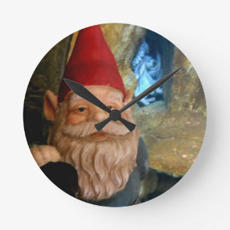 Gerome and the Octopus Round Clock
