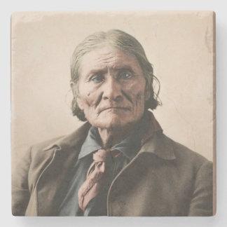 Geronimo 1898 posavasos de piedra