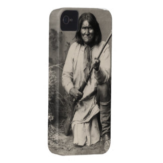 Geronimo After His Capture By US Troops John J Per iPhone 4 Cases