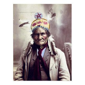 Geronimo, age 74 postcard
