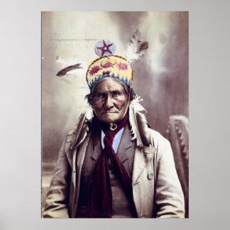 Geronimo age 74 print