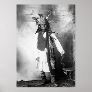 Geronimo - Age 78 Poster