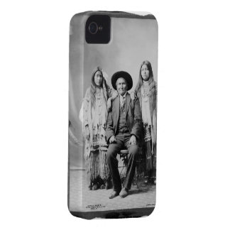Geronimo and 2 neices Case-Mate iPhone 4 cases