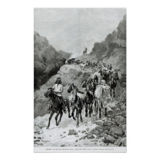 Geronimo and his Band Poster