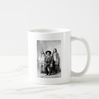 Geronimo and two nieces coffee mugs