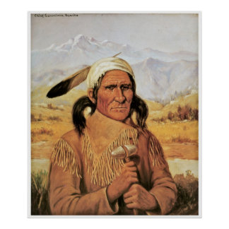 Geronimo by Henry Cross c. 1900 Poster