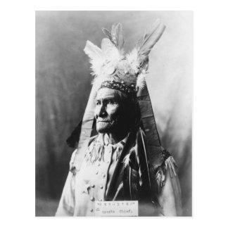 Geronimo c1907 postcard