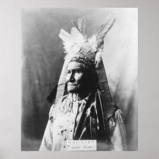 Geronimo c1907 poster