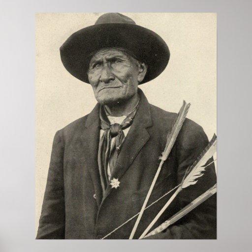 'Geronimo con las flechas Impresiones