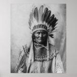 'Geronimo con los tocados Impresiones