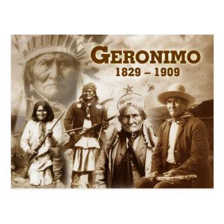 Geronimo del Chiricahua apache Postal