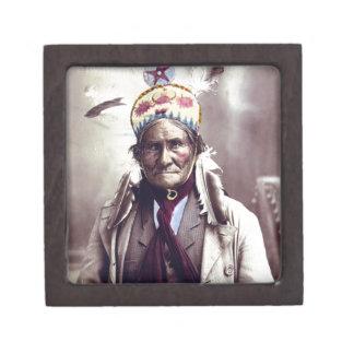 Geronimo, edad 74 caja de recuerdo de calidad