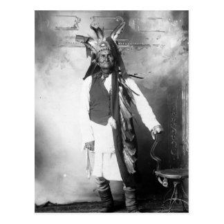 Geronimo - edad 78 postal