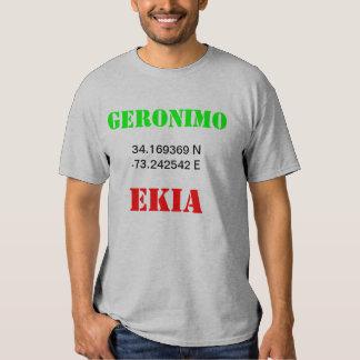 GERONIMO EKIA T SHIRT