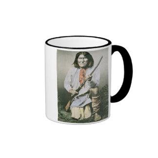 Geronimo (foto coloreada) tazas
