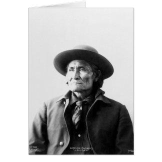 Geronimo (Guiyatle) 1898 Card