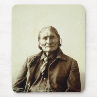 Geronimo (Guiyatle) Apache Native American Indian Mouse Pad