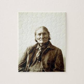 Geronimo (Guiyatle) Apache Native American Indian Puzzles