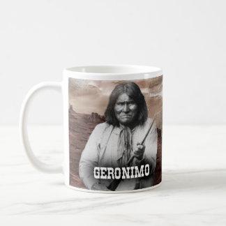 Geronimo Historical Mug