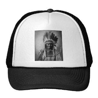 Geronimo in Head Dress Trucker Hat