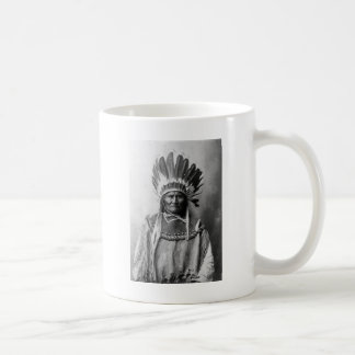 Geronimo in headdress 1907 coffee mug