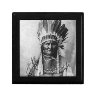 Geronimo Jewelry Box
