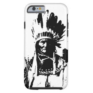 Geronimo negro y blanco funda de iPhone 6 tough