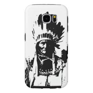 Geronimo negro y blanco fundas samsung galaxy s6