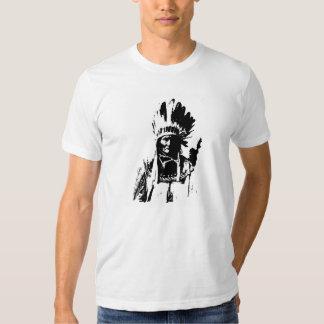 Geronimo negro y blanco playeras