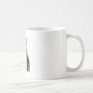 Geronimo negro y blanco taza clásica