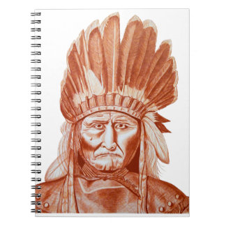 GERONIMO SPIRAL NOTE BOOK