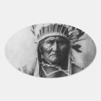 Geronimo Oval Sticker