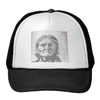 geronimo pencil.PNG Geronimo drawing Trucker Hat