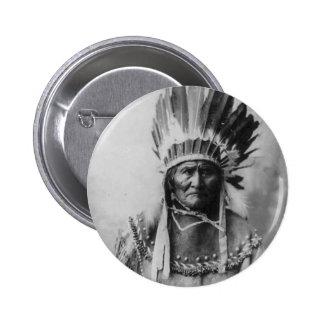 Geronimo Pin Redondo De 2 Pulgadas