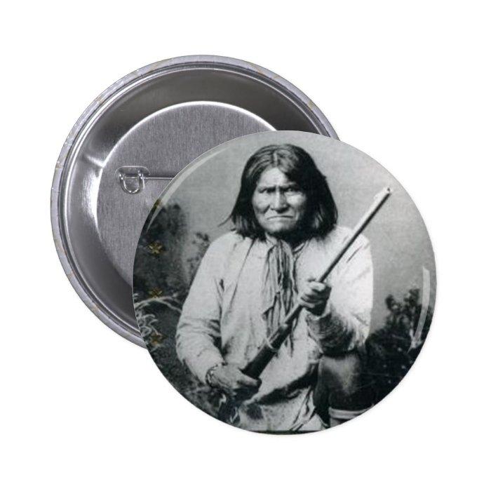 Geronimo Pinback Button