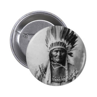 Geronimo Pinback Button