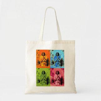Geronimo Pop Art Tote Bags