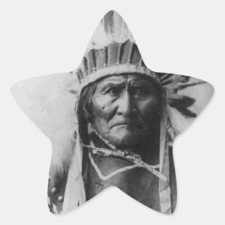 Geronimo Star Sticker