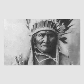 Geronimo Rectangle Sticker