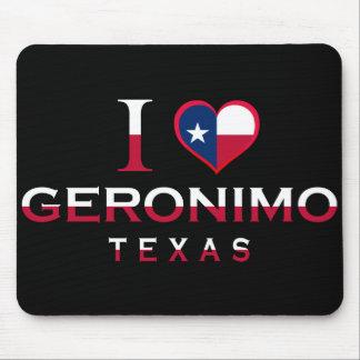 Geronimo, Texas Mouse Pads