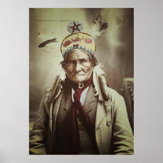 Geronimo the Human Tiger Print
