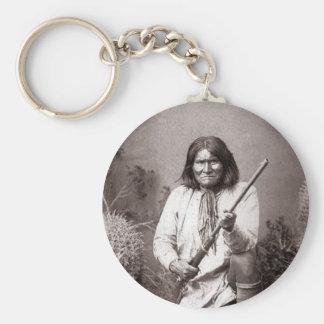 Geronimo - Vintage Keychain