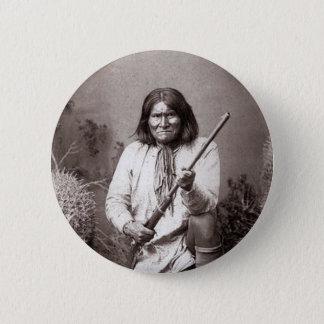 Geronimo - Vintage Pinback Button