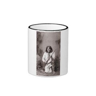 Geronimo - vintage taza a dos colores
