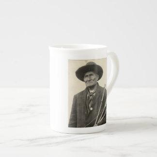'Geronimo with Arrows' Tea Cup